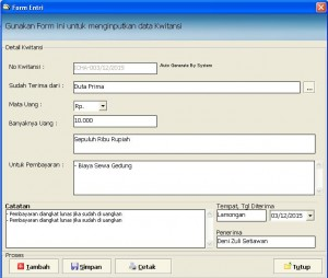 Download Program Cetak Kwitansi
