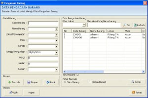 Software Inventaris Barang