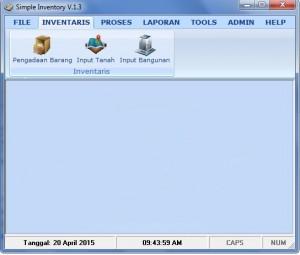 Download Software untuk mengelolah barang inventaris