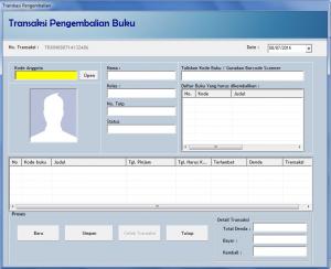 Manajemen Perpustakaan dengan Software Simple Perpus