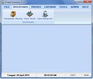 Download Software Inventaris sekolah terbaru