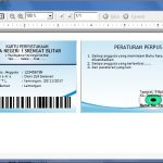 Cara Membuat Kartu Anggota Perpustakaan Secara Otomatis