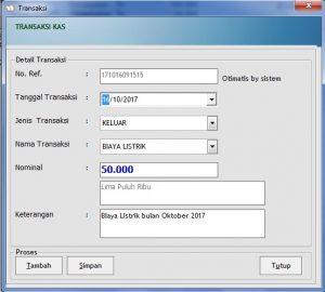 Download Software Untuk mengelolah uang kas