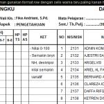 Rapor smp k13