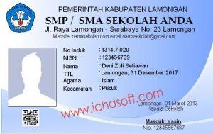 Free Download Software Cetak Kartu Siswa
