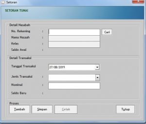 Download Software Buku Tabungan
