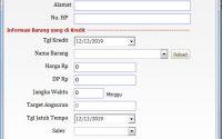 Aplikasi Kredit Mingguan