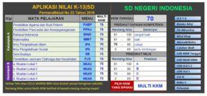 Unduh Aplikasi Raport K13 Terbaru untuk SD